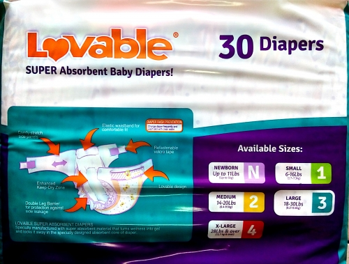 45d9b0fca1a9 Lovable Baby Diapers