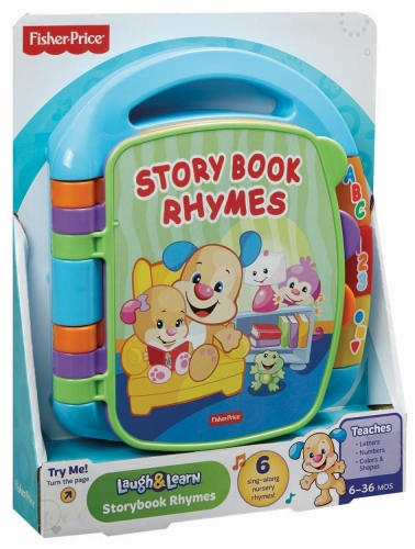 Fisher Price Laugh Amp Learn Storybook Rhymes Book