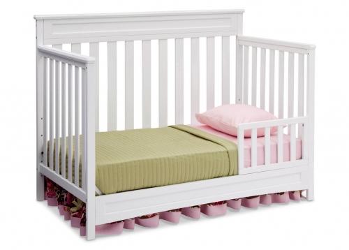 Delta Children Geneva 4-in-1 Convertible Crib (White ...
