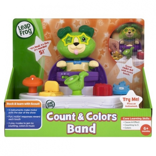 Leapfrog Scout S Count Amp Colors Band