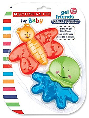 Scholastic Teether Gel Friends