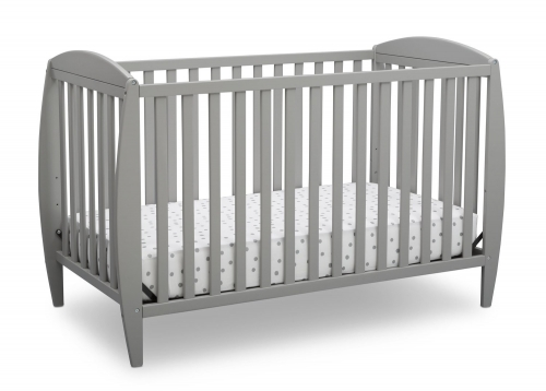 Taylor 4 In 1 Convertible Crib Grey