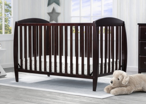Taylor 4 In 1 Convertible Crib Chocolate