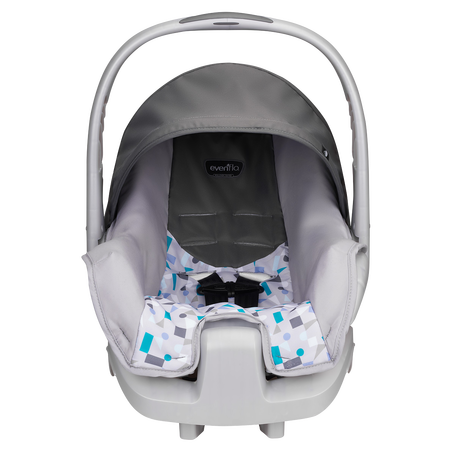 Evenflo Nurture Infant Car Seat Teal Confetti