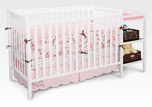 Sanibel Crib N Changer White Includes Mattress