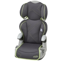 Evenflo - AMP Big Kid's High Back Booster Seat (Green Angles)
