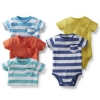 5-Pack Bright & Stripe Bodysuits