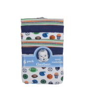 Gerber 6 pack terry washcloths