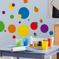 Primary Dots Peel & Stick Wall Decals