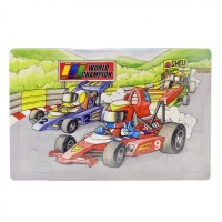 Super Racers Puzzle - 24 Pieces