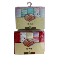 10 Pack Baby Washcloths - Carters
