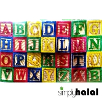 Learning Activity - ABC Wooden Blocks