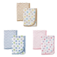 Luvable Friends 2-Pack Cotton Receiving Blankets