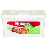 Huggies Natural Care Tub Wipes (64)
