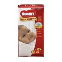 Huggies Little Snugglers Diapers, Size 1, 35 Count
