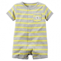 Carters Snap-Up Cotton Romper