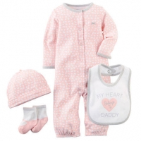 Carters 4-Piece Take-Me-Home Set