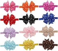 Baby Girls Headbands and Forked Tail Bow