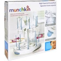 Munchkin High Capacity Drying Rack, White