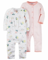 Carters 2-Pack Babysoft Coveralls