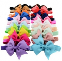 Baby Girls Headbands and Forked Tail Bow (Sold Singly)