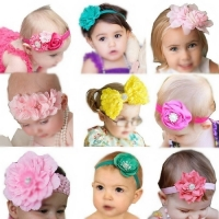 Baby Girl's Beautiful Headbands Elastic Headband