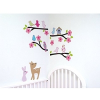Luvable Friends Bird Wall Decals Style