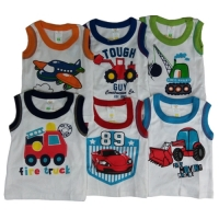 Boy's Baby/Toddler Vests - Assorted