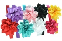 Baby Girls Headbands - Lotus Flower