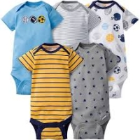 Boys 5-pack Onesies® Brand Short Sleeve Bodysuits - Sport