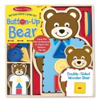 Melissa & Doug Button-Up Bear