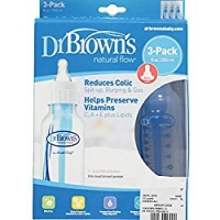 Dr. Brown's 3 Pack Natural Flow Bottles (8 oz)