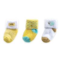 3-PACK TERRY SOCKS WITH APPLIQUE