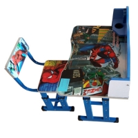 Kids Study Table with Chair - Spider Man
