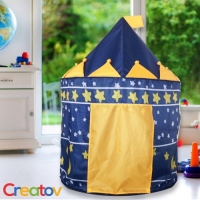 The Creatov® Blue Prince Castle Play Tent