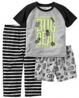 Carters 3-Pc. Bug Deal Pajamas Set