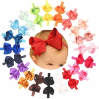 Baby Girls Headbands - Double Bow