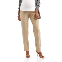 Maternity Full-Panel Straight Leg Career Pants