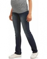 Maternity Demi-Panel Super Soft Straight Leg Jeans