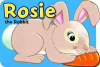 Animal Shaped Board Book - Rosie