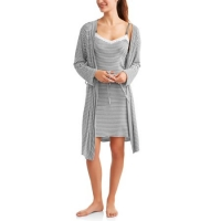 Lamaze Maternity 2-Piece Nursing Chemise and Robe Set