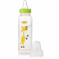 Evenflo Decorated Plastic 8 oz Nurser – Animal Friends
