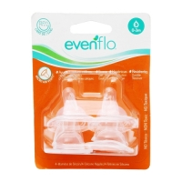 Evenflo 4 Pack Anatomic Nipples Size 1 ( 0-3 M)