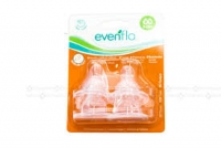 Evenflo 4 Pack Anatomic Nipples Size 2 ( 3-12 M)