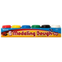 BAZIC 2 oz Multi Color Modeling Dough (6/Pack)