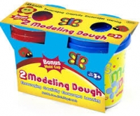 BAZIC 5 oz Multi Color Modeling Dough (2/Pack)