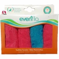 Evenflo 4 Pack Baby Washcloths