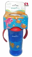 Evenflo Soft Spout Training Cup 11 oz with 2 Handles