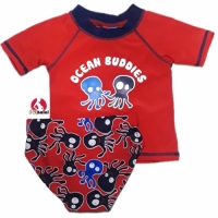 2 Pc Rash Guard Swim Set - Ocean Buddies