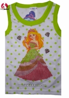 Princess Glitter Top